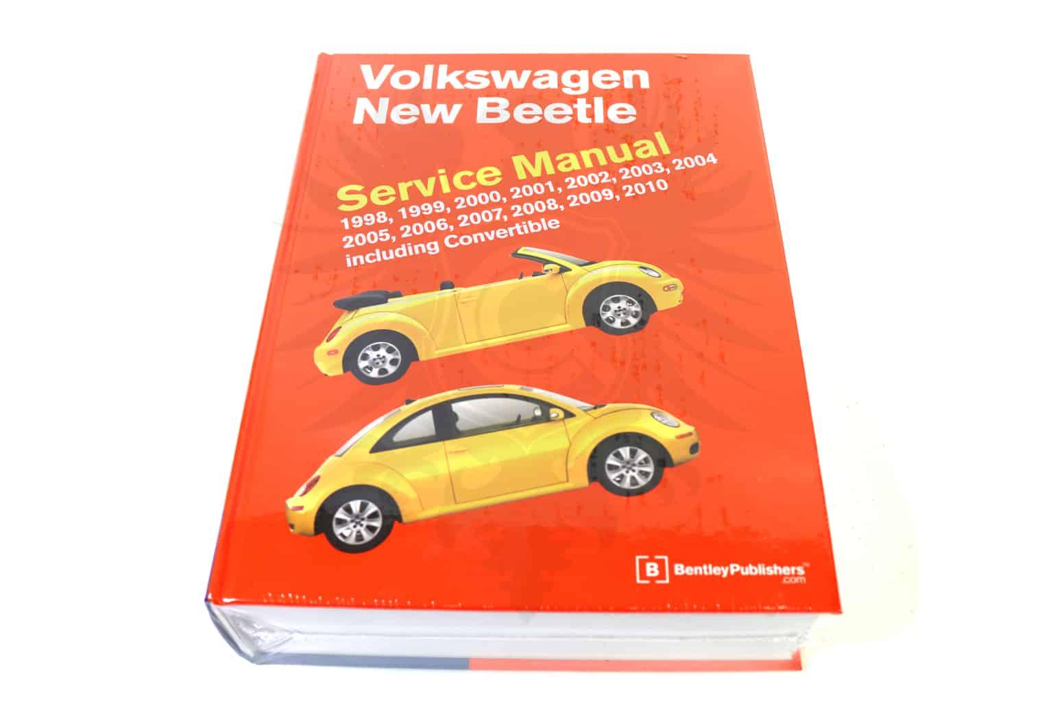 Bentley Repair Manual, New Beetle