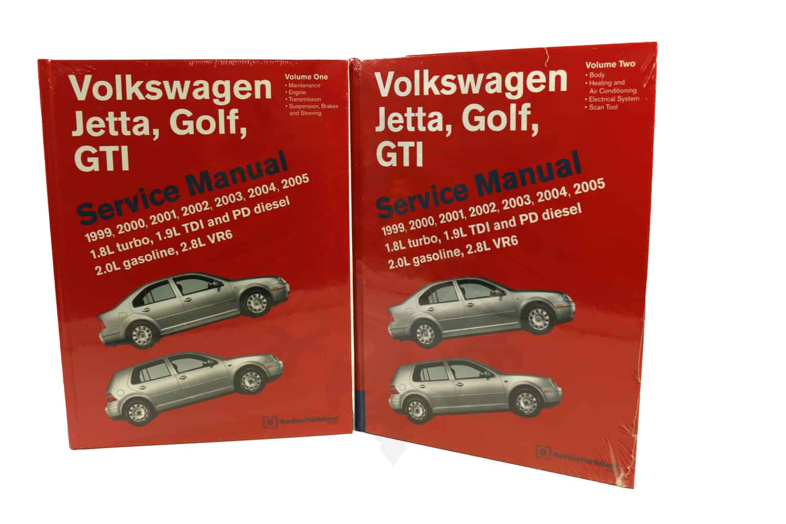 Bentley Repair Manual, Mk4 Golf & Jetta