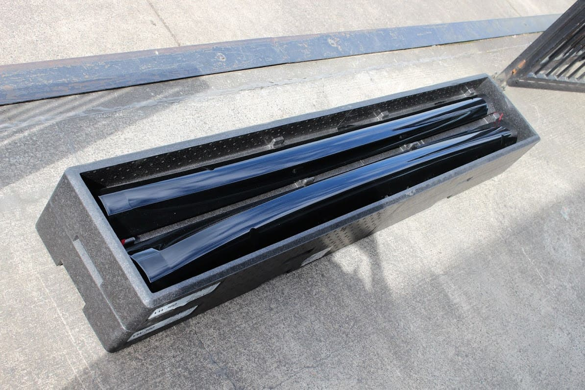 Side Skirt Set Mk6 Golf R Deep Black Pearl Cascade