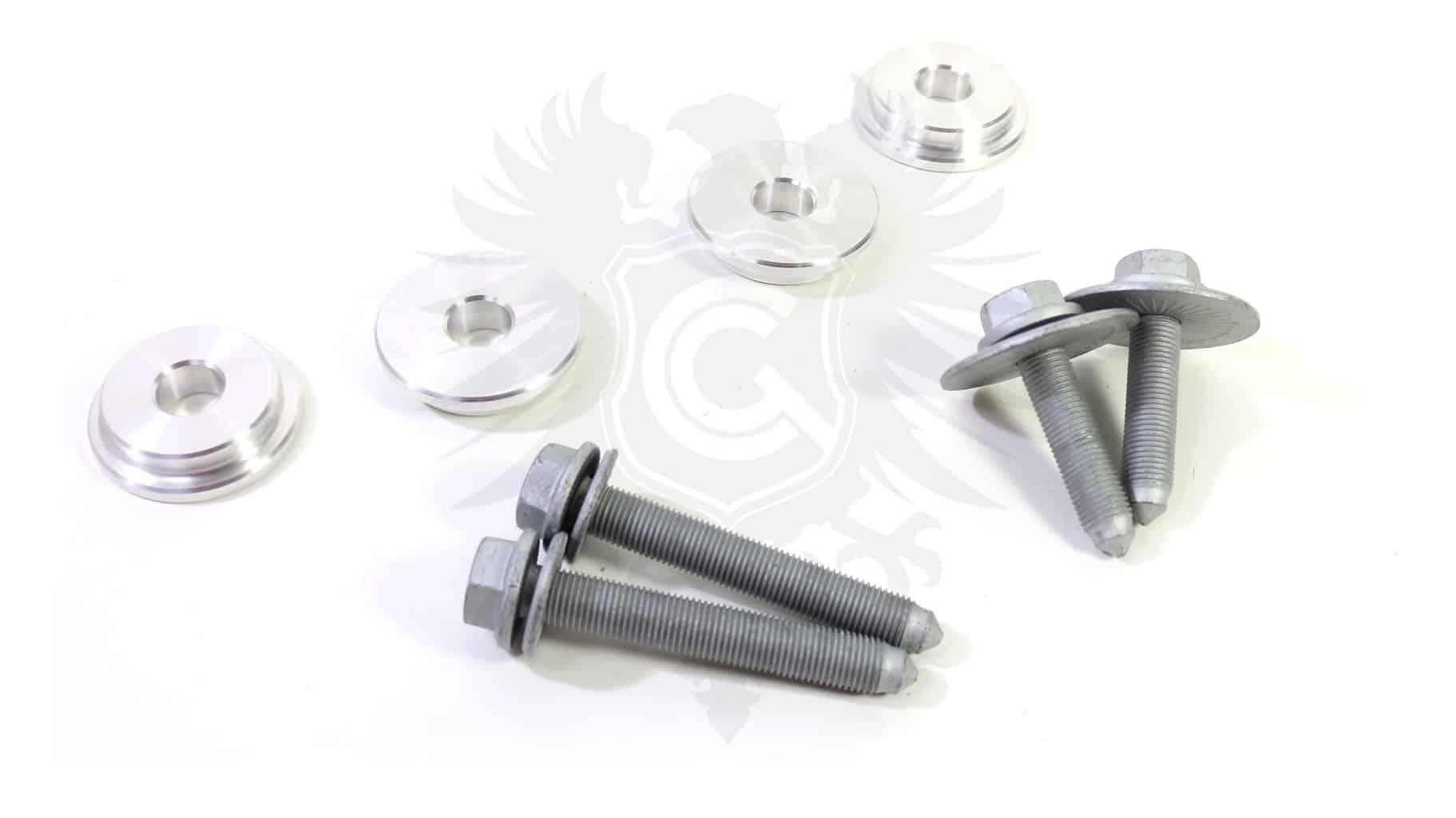 Subframe Bushing Kit, Mk4 Aluminum