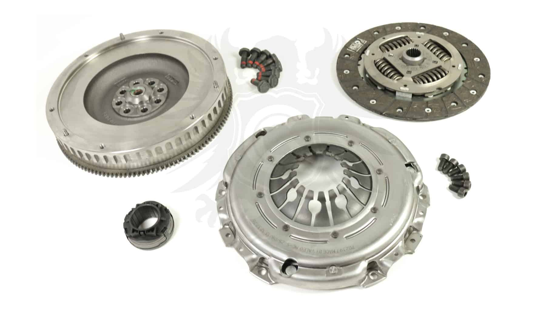 Clutch and Flywheel Kit, 01E 2 7T HD Single Mass