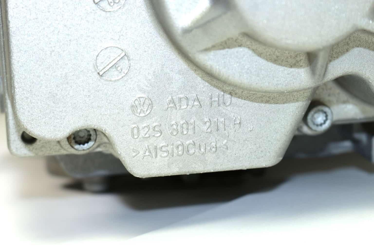 vw manual transmission ratios